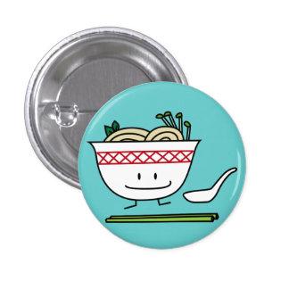Happy Pho Noodle Bowl Pinback Button