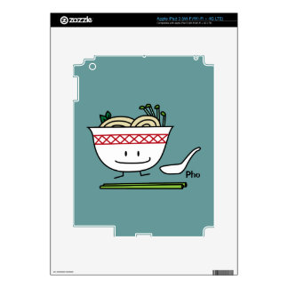 Happy Pho Noodle Bowl Skin For iPad 3