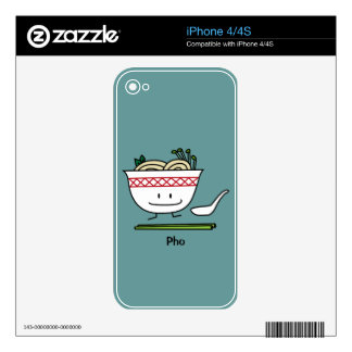 Happy Pho Noodle Bowl Skins For The iPhone 4S
