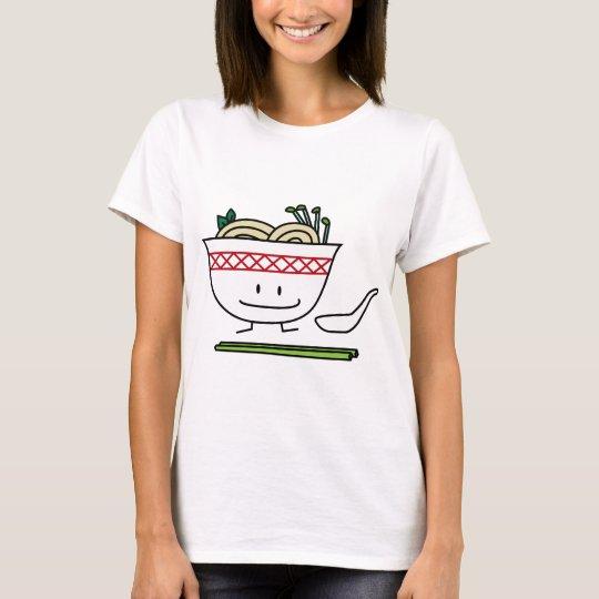 Happy Pho Noodle Bowl T-Shirt