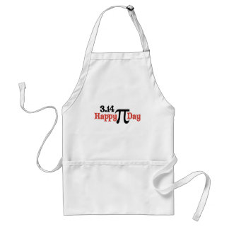 Happy Pi Day 3.14 - March 14th Adult Apron