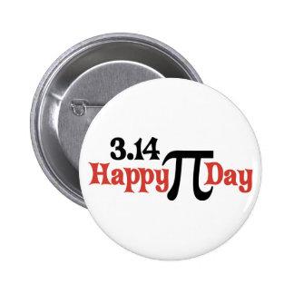 Happy Pi Day 3.14 - March 14th Button