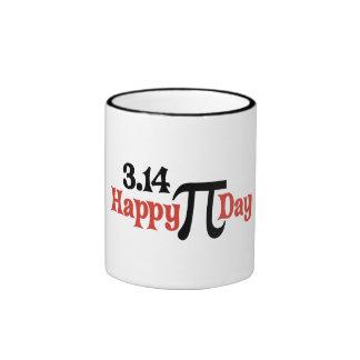 Happy Pi Day 3.14 - March 14th Coffee Mugs