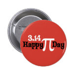 Happy Pi Day 3.14 - March 14th Pin