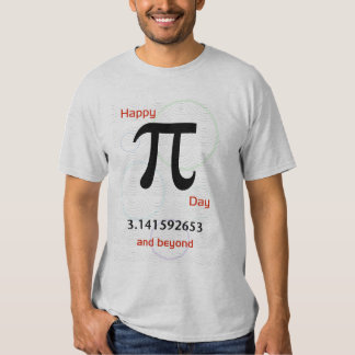 Happy Pi Day and Beyond Shirt