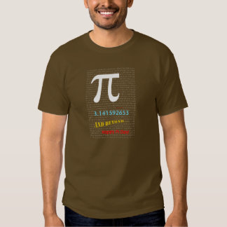 Happy Pi Day and Beyond with Continuous Pi Numbers T-Shirt