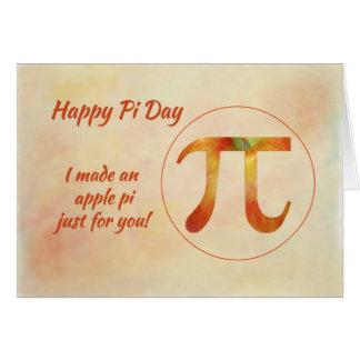 Happy Pi Day (Birthday) Card