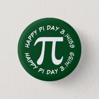 Happy Pi Day Button