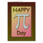 Happy Pi Day Card ~ March 14
