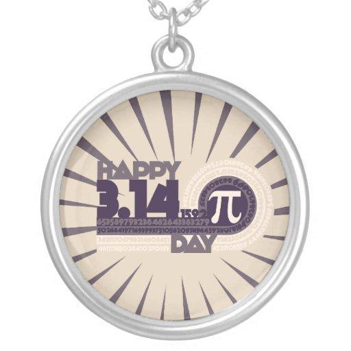 Happy Pi Day Custom Necklace