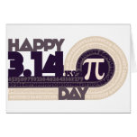 Happy pi Day Greeting Cards