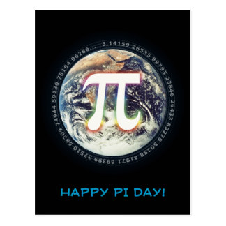 Happy Pi Day! - Greetings Postcard