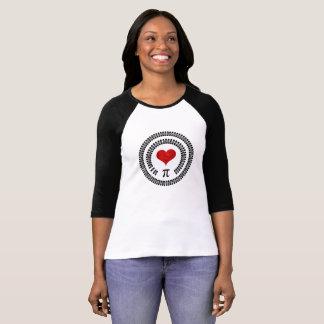 Happy Pi Day Heart Math Digits 3.14 Mathematics T-Shirt