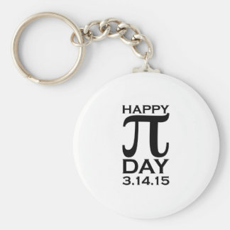 Happy Pi Day Keychain