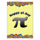 Happy Pi Day | Pi Symbol for Math Nerds March 14 Card