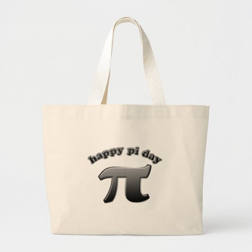 Happy Pi Day Pi Symbol for Math Nerds on March 14 Tote Bag