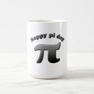 Happy Pi Day Pi Symbol for Math Nerds on March 14 Coffee Mug