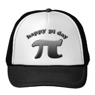 Happy Pi Day Pi Symbol for Math Nerds on March 14 Trucker Hat