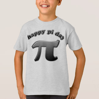 Happy Pi Day Pi Symbol for Math Nerds on March 14 T-Shirt