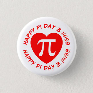 Happy Pi Day Pinback Button