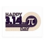 Happy pi Day Postcards
