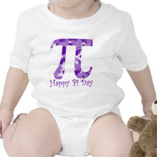 Happy Pi Day Purple Camo Tshirts