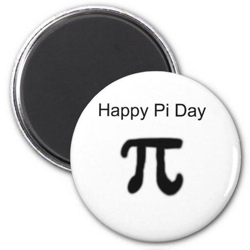 Happy Pi Day Refrigerator Magnet
