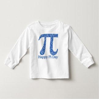Happy Pi Day Royal Blue Dots Toddler T-shirt