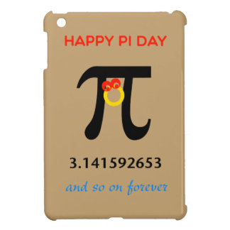 Happy Pi Day, So On and Forever iPad Mini Case