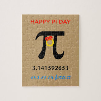 Happy Pi Day, So On and Forever Jigsaw Puzzle