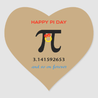 Happy Pi Day, So On and Forever Stickers