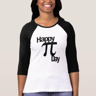 Happy Pi Day T-shirt at Zazzle