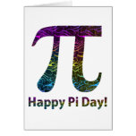 Happy Pi Day Tees and Gifts Cards