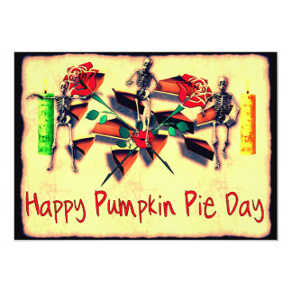 Happy Pie Day 5x7 Paper Invitation Card