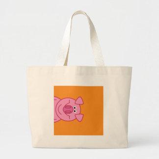 HAPPY PIG TOTE BAGS