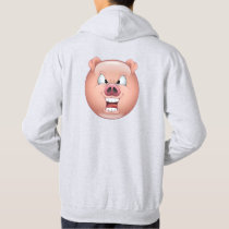 Happy pig - emoticon. hoodie