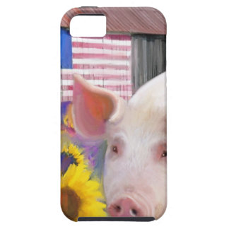 Happy Pig From West Marin iPhone SE/5/5s Case