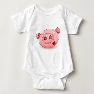 Happy Pig Icon Tshirts