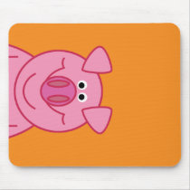 HAPPY PIG MOUSPAD MOUSE PAD