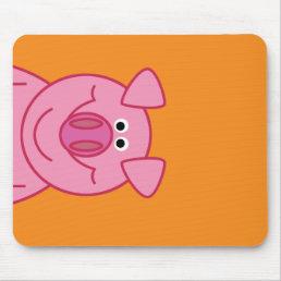 HAPPY PIG MOUSPAD MOUSE PAD