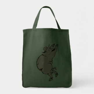 happy pig sow happy pig hog canvas bag
