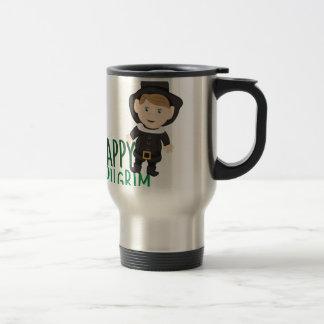 Happy Pilgrim Travel Mug