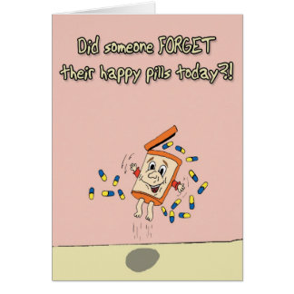 Happy Pills Card