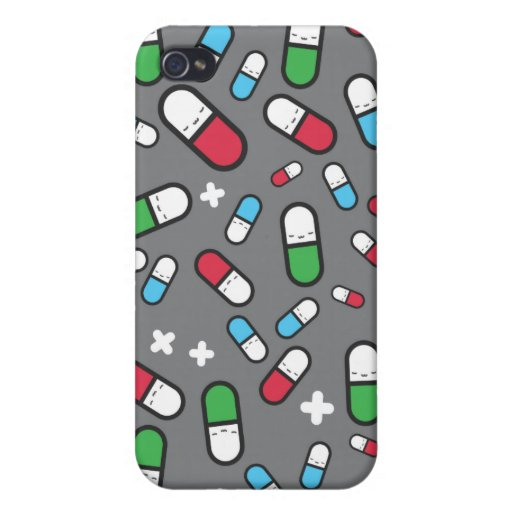 happy pills iPhone 4 cover