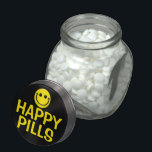 "Happy Pills Jelly Belly Candy Jar<br><div class=""desc"">Laughter is the best medicine,  it&#39;s just candy,  but candy is dandy!</div>"