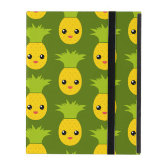 Happy Pineapple Pattern Art (Exclusive) iPad Covers