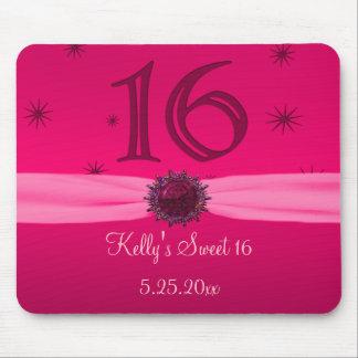 Happy Pink Birthday 16 PC Mousepad