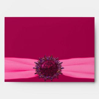 Happy Pink Birthday 16 Size A7 Envelope
