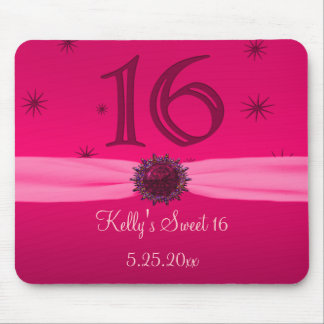 Happy Pink Birthday 16 SoftSided Mouse Pad