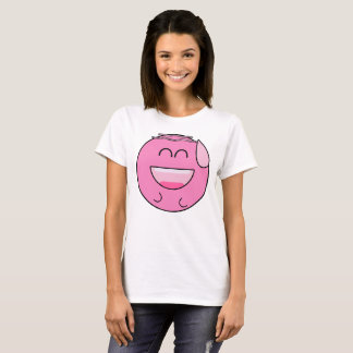 Happy Pink Emoji T-Shirt